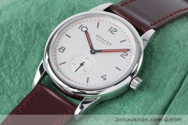 Used luxury watch Nomos Club steel automatic Kal. Epsilon  | 161000 01