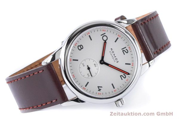 Used luxury watch Nomos Club steel automatic Kal. Epsilon  | 161000 03