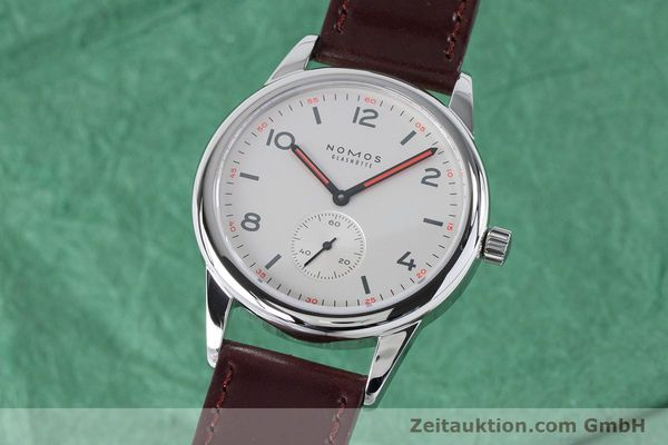 Used luxury watch Nomos Club steel automatic Kal. Epsilon  | 161000 04
