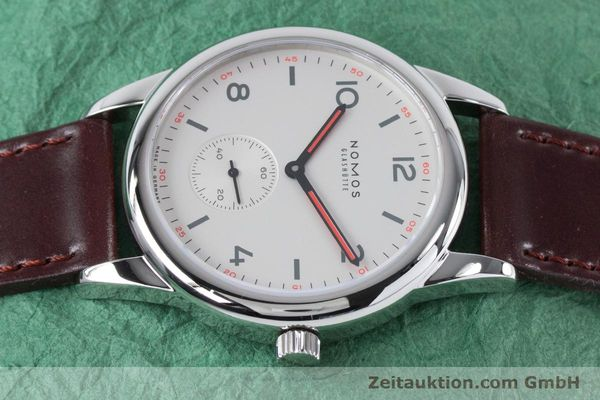 Used luxury watch Nomos Club steel automatic Kal. Epsilon  | 161000 05