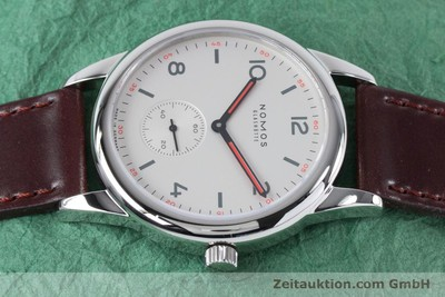 NOMOS CLUB STEEL AUTOMATIC KAL. EPSILON LP: 2100EUR [161000]