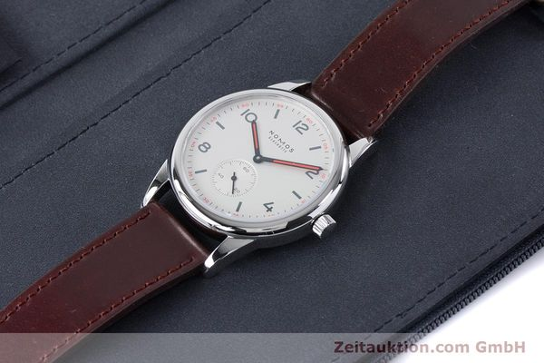 Used luxury watch Nomos Club steel automatic Kal. Epsilon  | 161000 07