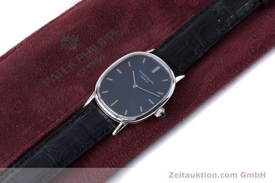 PATEK PHILIPPE ELLIPSE 18 CT WHITE GOLD MANUAL WINDING KAL. 215 [161001]
