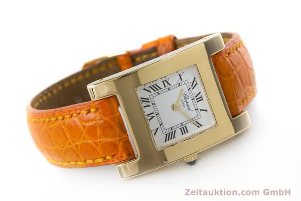 gebrauchte Luxusuhr Chopard Your Hour 18k Gold Quarz Kal. ETA 976.001 Ref. 4451  | 161002 03