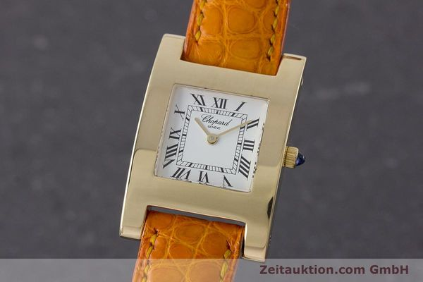 gebrauchte Luxusuhr Chopard Your Hour 18k Gold Quarz Kal. ETA 976.001 Ref. 4451  | 161002 04