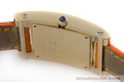 CHOPARD LADY 18K (0,750) GOLD YOUR HOUR DAMENUHR SAPHIRGLAS VP: 8540,- EURO [161002]