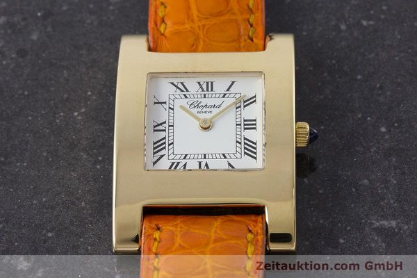 gebrauchte Luxusuhr Chopard Your Hour 18k Gold Quarz Kal. ETA 976.001 Ref. 4451  | 161002 14