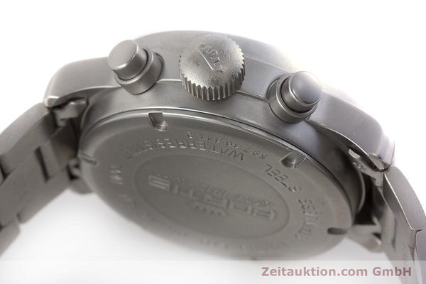 Used luxury watch Fortis Flieger Chronograph chronograph steel automatic Kal. ETA 7750 Ref. 597.10.141.2  | 161004 11