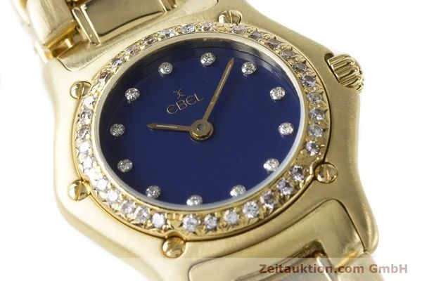 Used luxury watch Ebel 1911 18 ct gold quartz Kal. 90 Ref. 890910  | 161006 02