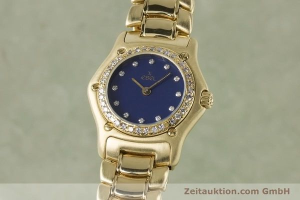 EBEL LADY 18K (0,750) GOLD 1911 DAMENUHR DIAMANTEN 890910 VP: 14500,- EURO [161006]