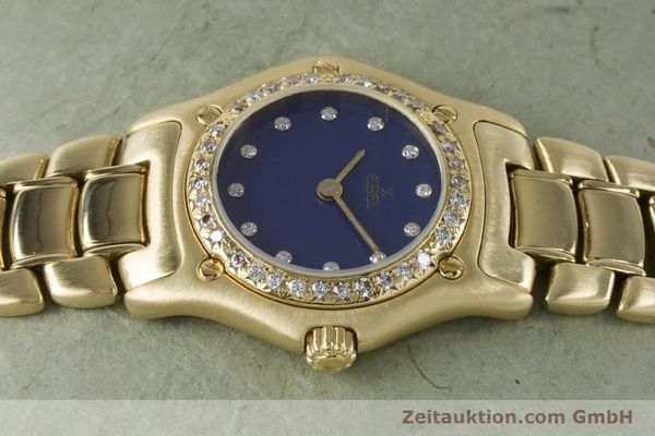 Used luxury watch Ebel 1911 18 ct gold quartz Kal. 90 Ref. 890910  | 161006 05