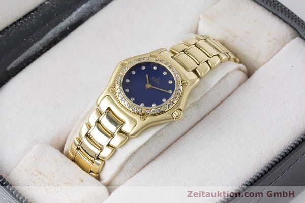 Used luxury watch Ebel 1911 18 ct gold quartz Kal. 90 Ref. 890910  | 161006 07