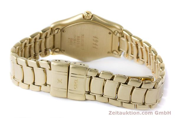 Used luxury watch Ebel 1911 18 ct gold quartz Kal. 90 Ref. 890910  | 161006 10