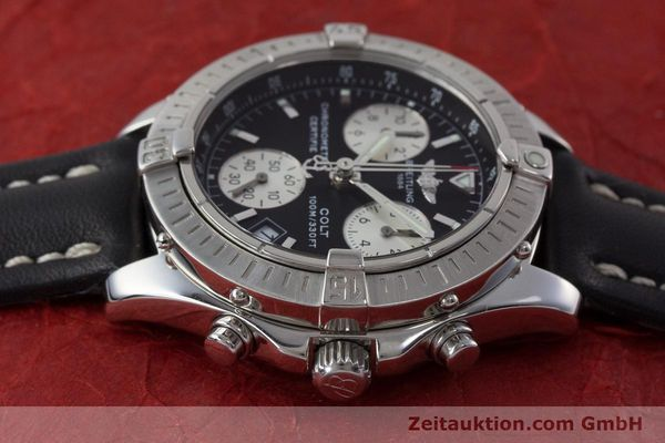 Used luxury watch Breitling Colt chronograph steel quartz Kal. B73 ETA 251.232 Ref. A73350  | 161010 05