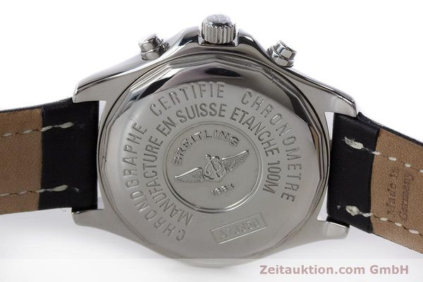 Used luxury watch Breitling Colt chronograph steel quartz Kal. B73 ETA 251.232 Ref. A73350  | 161010 09