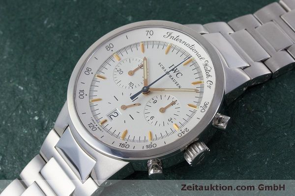 Used luxury watch IWC GST chronograph steel quartz Kal. 630 Ref. 3727  | 161017 01