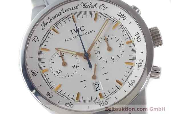 Used luxury watch IWC GST chronograph steel quartz Kal. 630 Ref. 3727  | 161017 02