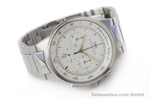 Used luxury watch IWC GST chronograph steel quartz Kal. 630 Ref. 3727  | 161017 03