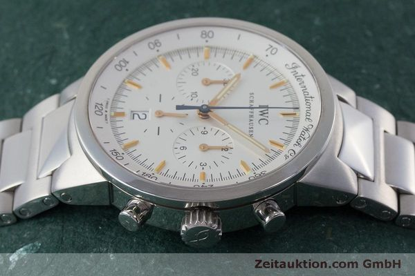 Used luxury watch IWC GST chronograph steel quartz Kal. 630 Ref. 3727  | 161017 05