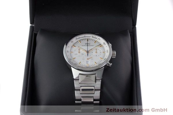 Used luxury watch IWC GST chronograph steel quartz Kal. 630 Ref. 3727  | 161017 07