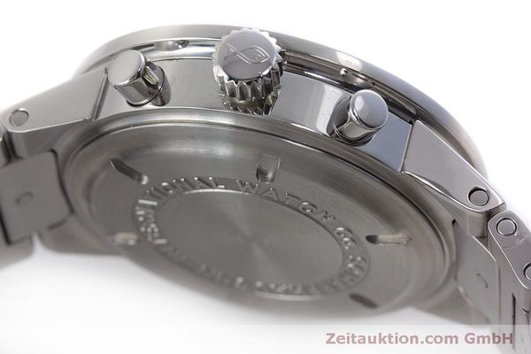 Used luxury watch IWC GST chronograph steel quartz Kal. 630 Ref. 3727  | 161017 11