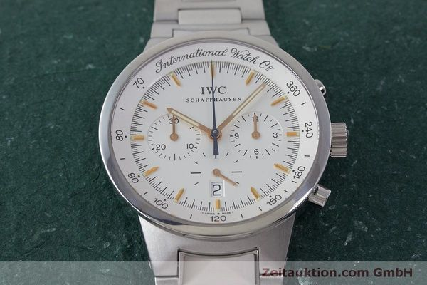 Used luxury watch IWC GST chronograph steel quartz Kal. 630 Ref. 3727  | 161017 16