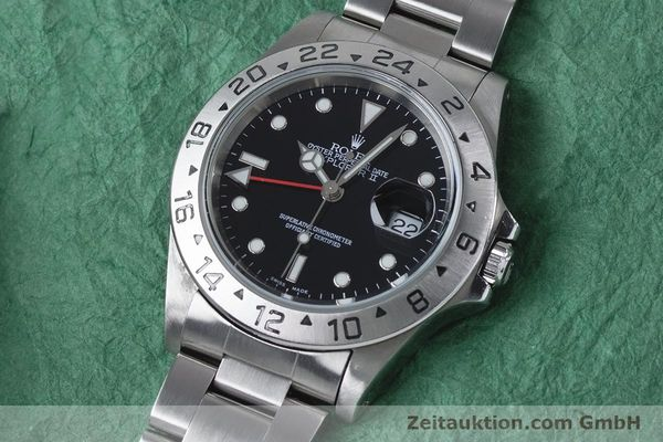 Used luxury watch Rolex Explorer II steel automatic Kal. 3185 Ref. 16570  | 161021 01