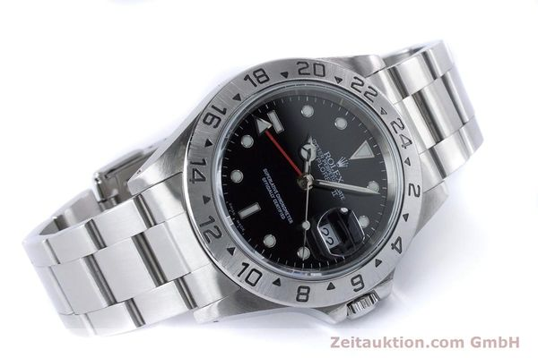Used luxury watch Rolex Explorer II steel automatic Kal. 3185 Ref. 16570  | 161021 03