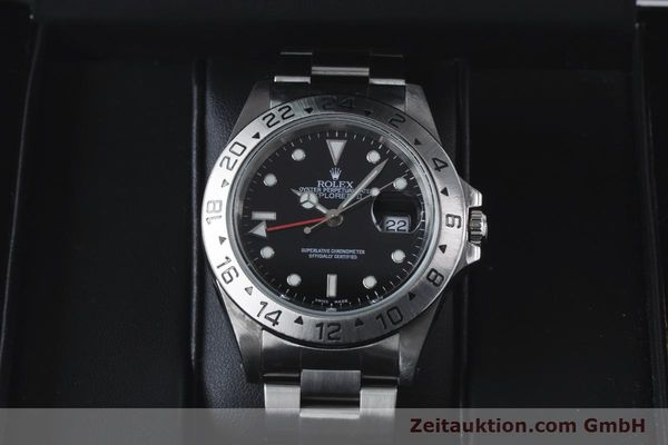 Used luxury watch Rolex Explorer II steel automatic Kal. 3185 Ref. 16570  | 161021 07