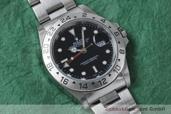 Used luxury watch Rolex Explorer II steel automatic Kal. 3185 Ref. 16570  | 161021 15