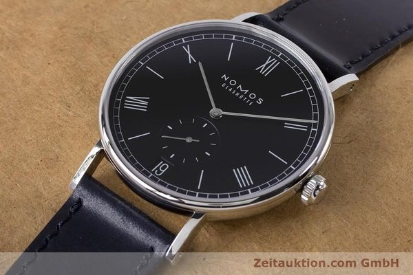 Used luxury watch Nomos Ludwig steel automatic Kal. Zeta 7552  | 161023 01