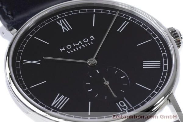 Used luxury watch Nomos Ludwig steel automatic Kal. Zeta 7552  | 161023 02