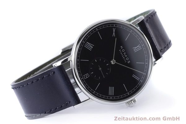 Used luxury watch Nomos Ludwig steel automatic Kal. Zeta 7552  | 161023 03