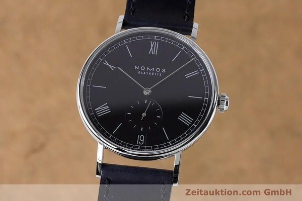 Used luxury watch Nomos Ludwig steel automatic Kal. Zeta 7552  | 161023 04