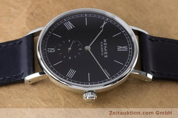 Used luxury watch Nomos Ludwig steel automatic Kal. Zeta 7552  | 161023 05