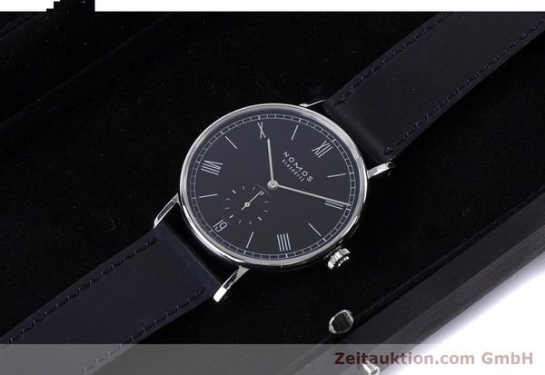 Used luxury watch Nomos Ludwig steel automatic Kal. Zeta 7552  | 161023 07