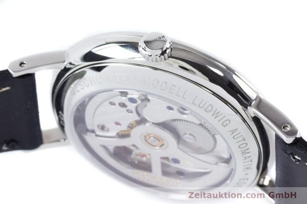 Used luxury watch Nomos Ludwig steel automatic Kal. Zeta 7552  | 161023 08