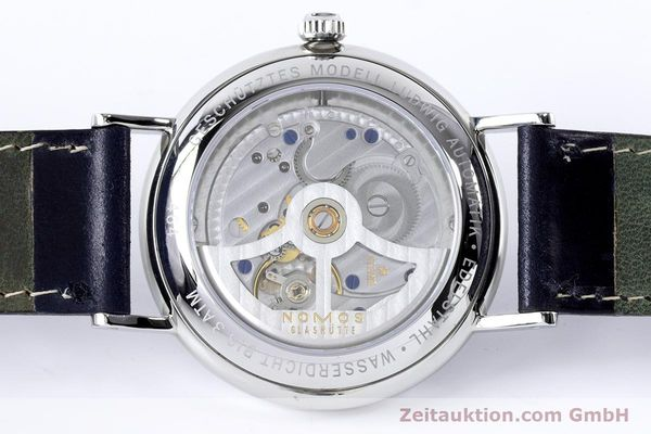 Used luxury watch Nomos Ludwig steel automatic Kal. Zeta 7552  | 161023 10