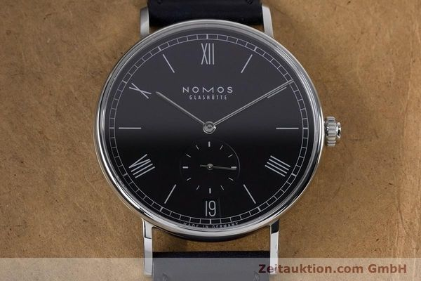 Used luxury watch Nomos Ludwig steel automatic Kal. Zeta 7552  | 161023 17