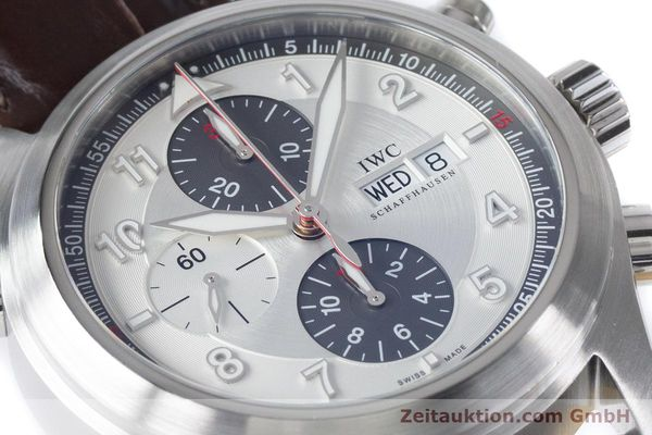 Used luxury watch IWC Fliegeruhr chronograph steel automatic Kal. 79230 Ref. 3718  | 161025 02