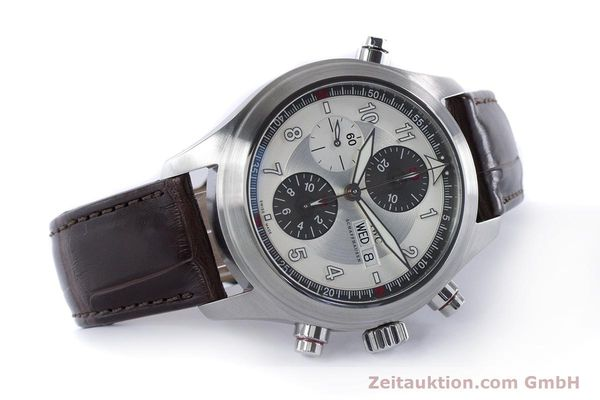 Used luxury watch IWC Fliegeruhr chronograph steel automatic Kal. 79230 Ref. 3718  | 161025 03