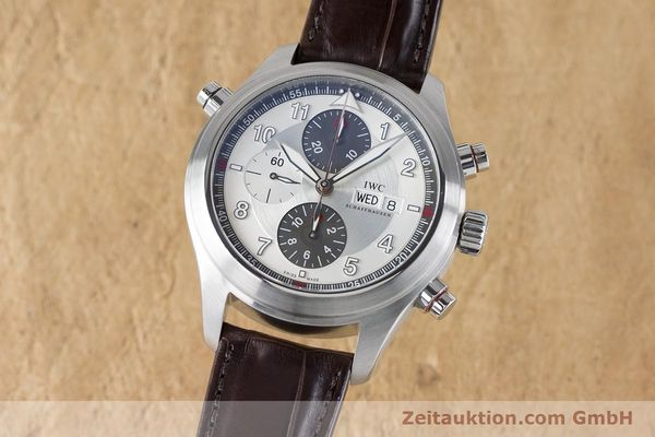 Used luxury watch IWC Fliegeruhr chronograph steel automatic Kal. 79230 Ref. 3718  | 161025 04