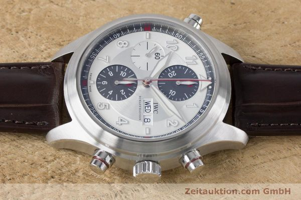 Used luxury watch IWC Fliegeruhr chronograph steel automatic Kal. 79230 Ref. 3718  | 161025 05