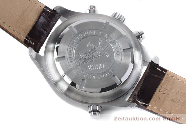 Used luxury watch IWC Fliegeruhr chronograph steel automatic Kal. 79230 Ref. 3718  | 161025 11