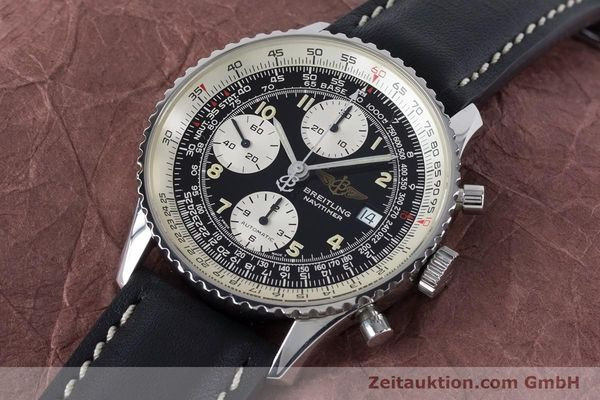 Used luxury watch Breitling Navitimer chronograph steel automatic Kal. B13 ETA 7750 Ref. A13022  | 161028 01