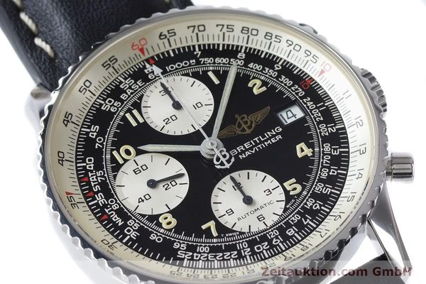 Used luxury watch Breitling Navitimer chronograph steel automatic Kal. B13 ETA 7750 Ref. A13022  | 161028 02