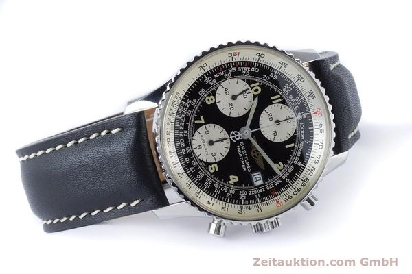 Used luxury watch Breitling Navitimer chronograph steel automatic Kal. B13 ETA 7750 Ref. A13022  | 161028 03