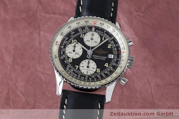Used luxury watch Breitling Navitimer chronograph steel automatic Kal. B13 ETA 7750 Ref. A13022  | 161028 04