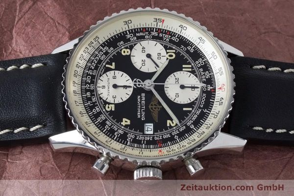 Used luxury watch Breitling Navitimer chronograph steel automatic Kal. B13 ETA 7750 Ref. A13022  | 161028 05