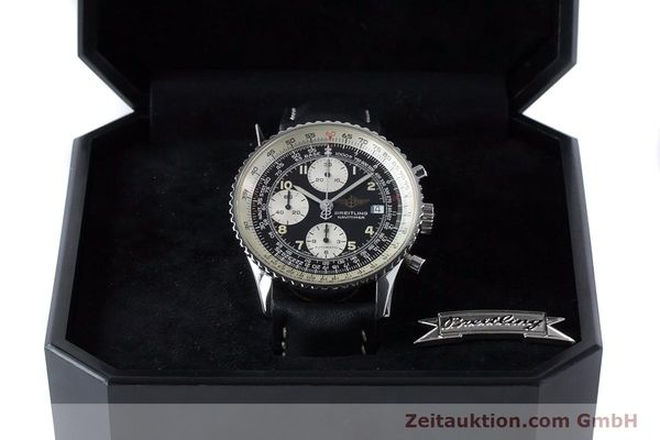 Used luxury watch Breitling Navitimer chronograph steel automatic Kal. B13 ETA 7750 Ref. A13022  | 161028 07